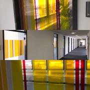 Sichtschutz/Auflaufschutz/Glasdekor
