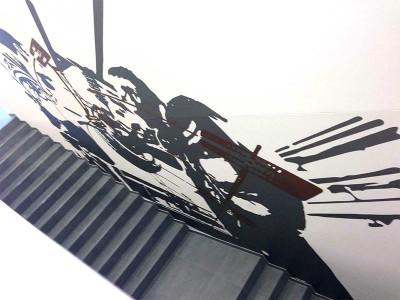 Metallicfolien mit Carbonlaminat // Duisburg // Art: K.L.Theinert