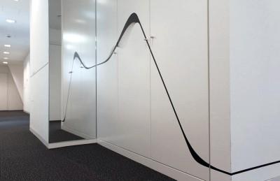 Leitsystem Design im Folienplott