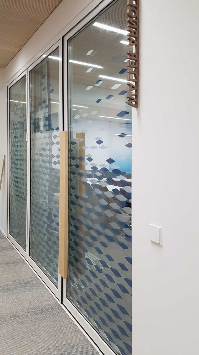 Auflaufschutz/Glasdekor